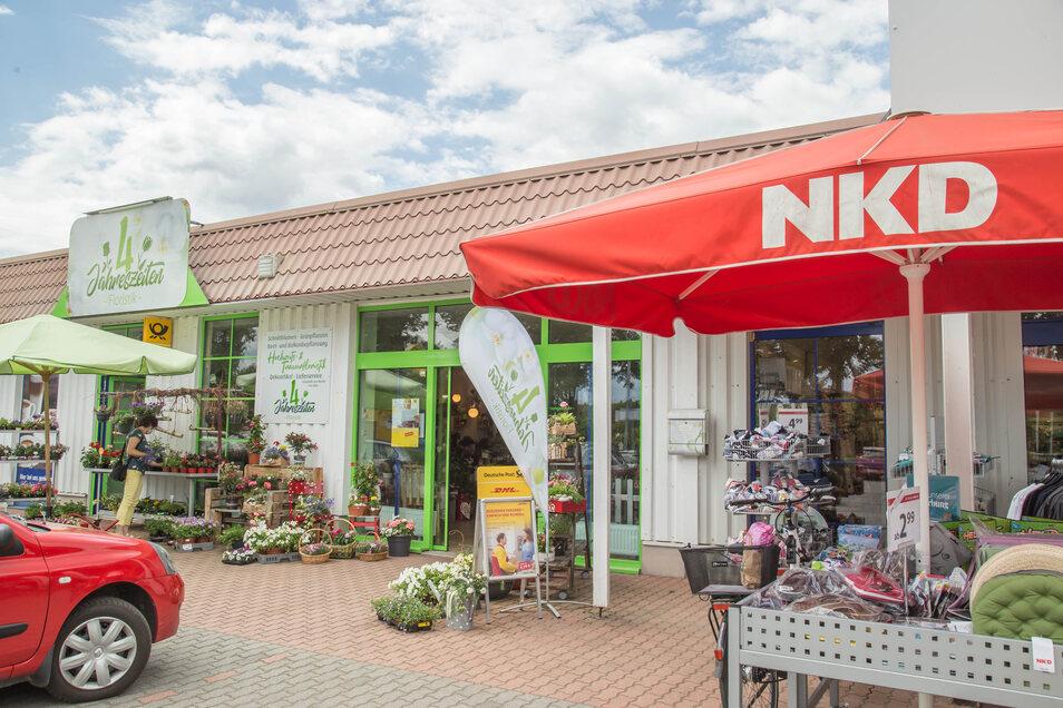 Der neue Standort: Der Postservice ist nun im Blumenladen Vier Jahreszeiten im Gewerbegebiet Süd an der Kollmer Straße zu finden.