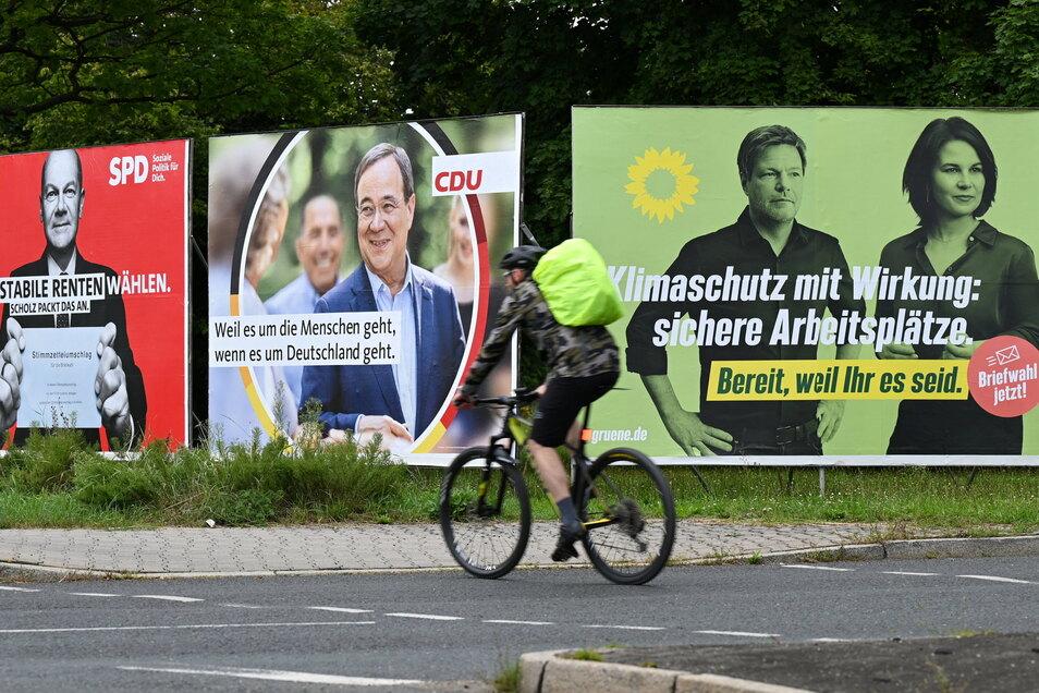 Wem geben die Wählerinnen und Wähler in Nordsachsen bei der Bundestagswahl ihre Stimmen?