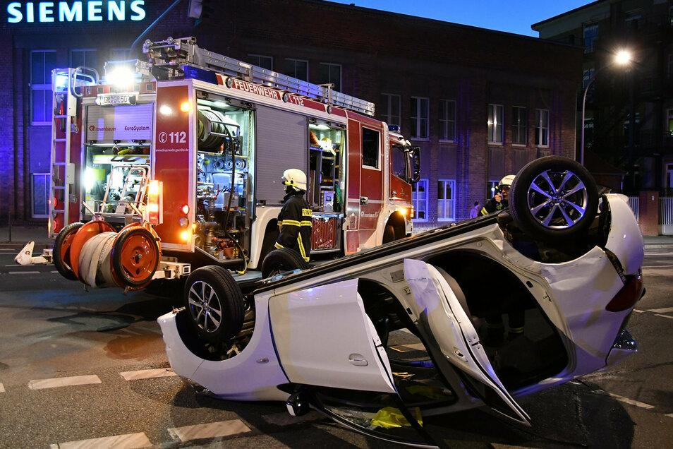 Unfälle ereigneten sich auch in der Corona-Zeit im Kreis Görlitz.