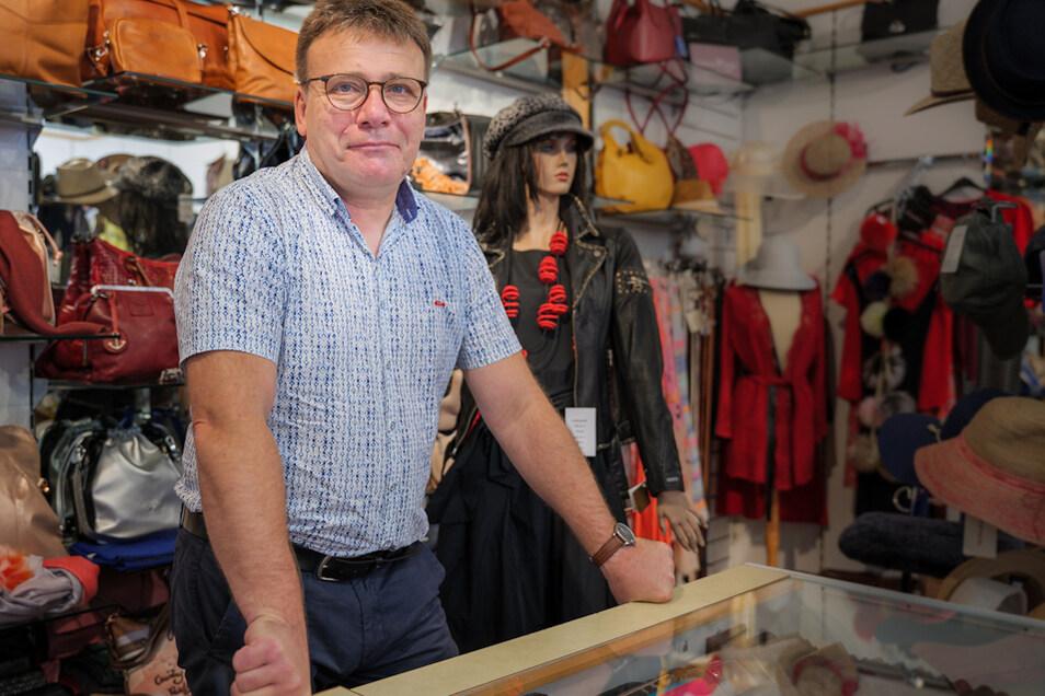 Inhaber Thomas Margenberg ist Initiator der Modenacht und freut sich schon sehr auf die Show.