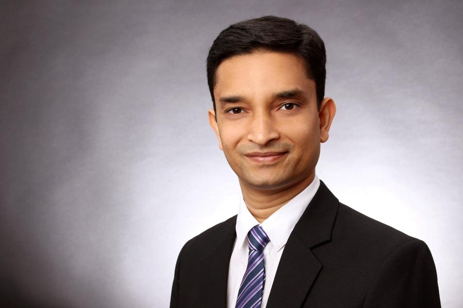 Moniruddoza Ashir studierte in Dresden Textil- und Konfektionstechnik, bevor er zum Maschinenbau-Doktor promovierte.