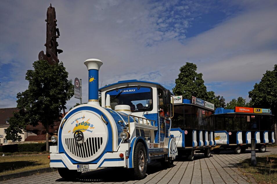 Der Riesaer Stahlmax fährt ab Mittwoch, 29. September, wieder durch die Riesaer Innenstadt.
