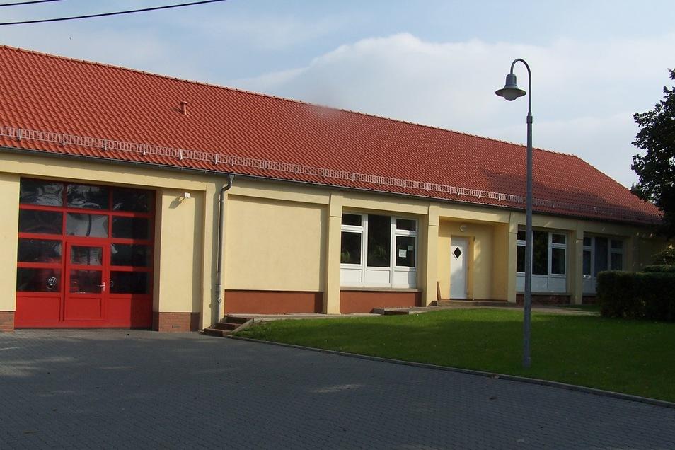 Im Wilsdruffer Ortsteil Braunsdorf wird das Dorfgemeinschaftshaus umgebaut.