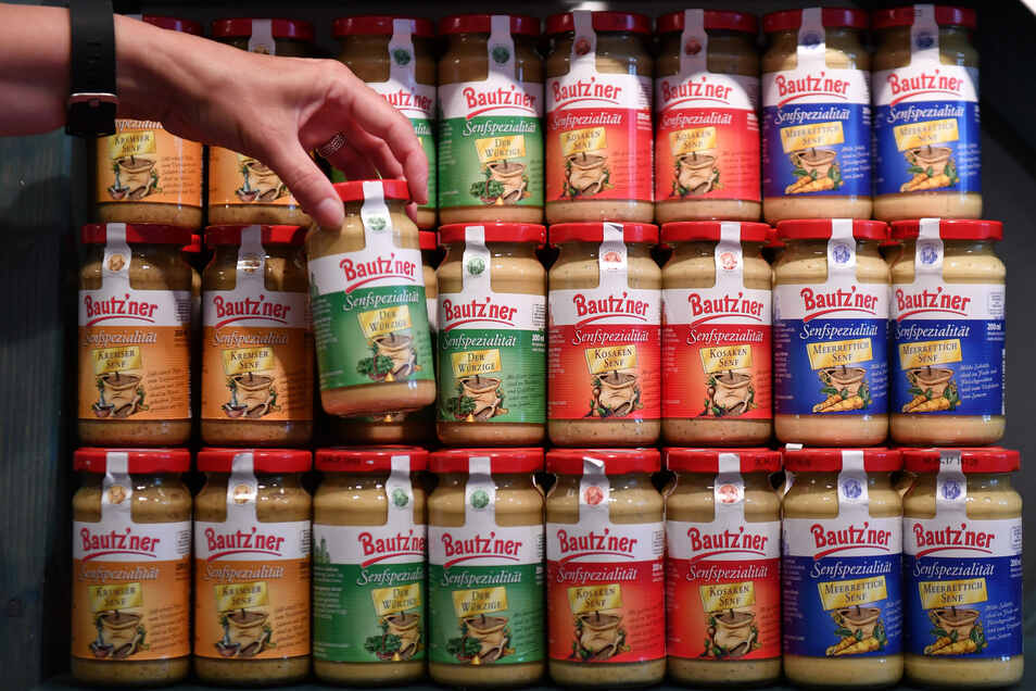 Bautz'ner Senf hat treue Fans: 82 Prozent der Kunden greifen immer wieder zu diesem Produkt.