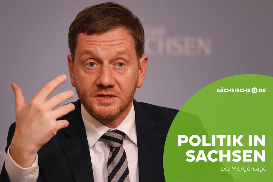 Wird der Lockdown noch einmal verlängert? Sachsens Ministerpräsident Michael Kretschmer hält das für denkbar.