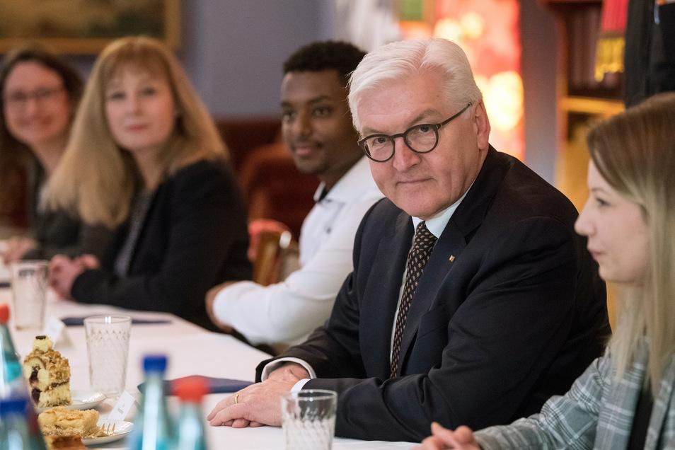 Auch in Pulsnitz möchte Frank-Walter Steinmeier bei Kaffee und Kuchen ins Gespräch kommen.