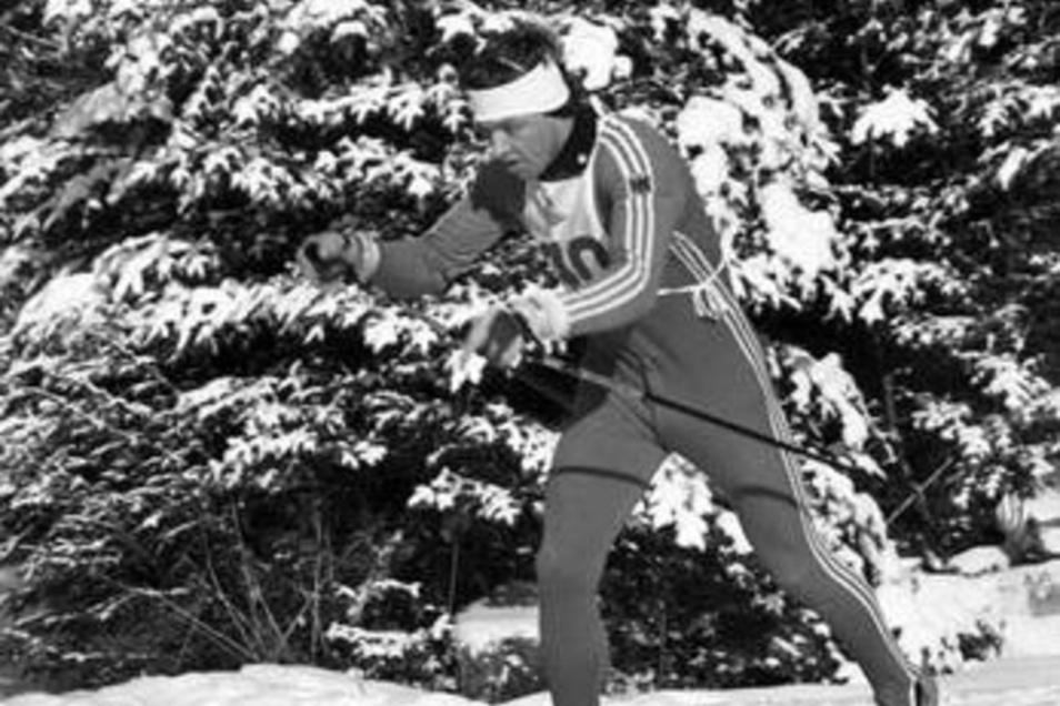Bei den Olympischen Spielen 1980 in Lake Placid konnte der Fernsehkommentator Jochen Behle einfach nicht entdecken.