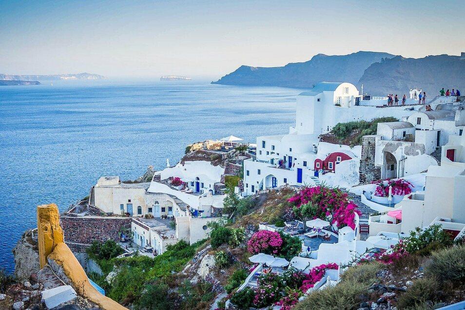 Santorini ist Griechenlands Perle.