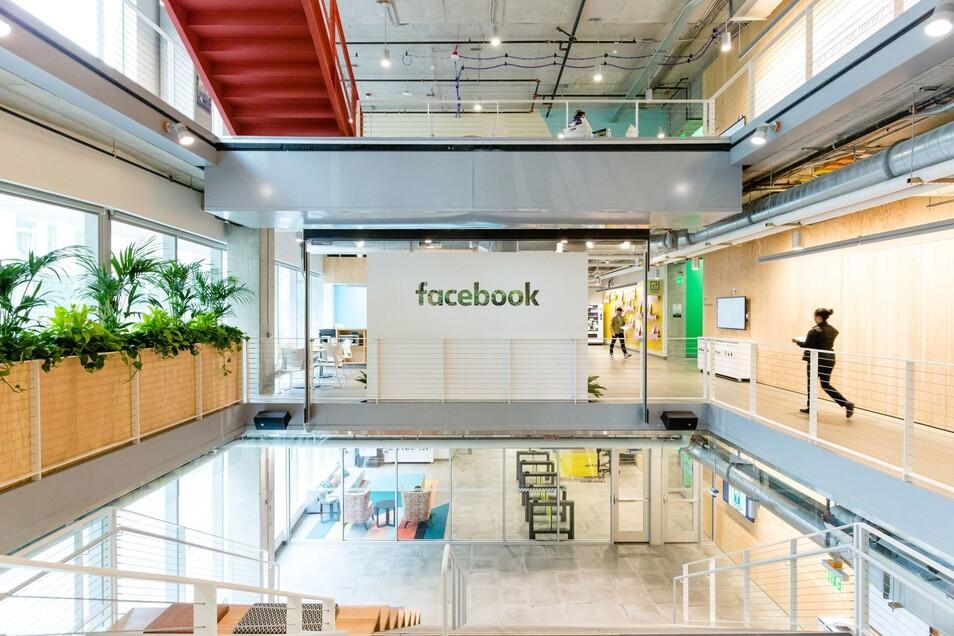 Blick in die Facebook-Niederlassung in Seattle.