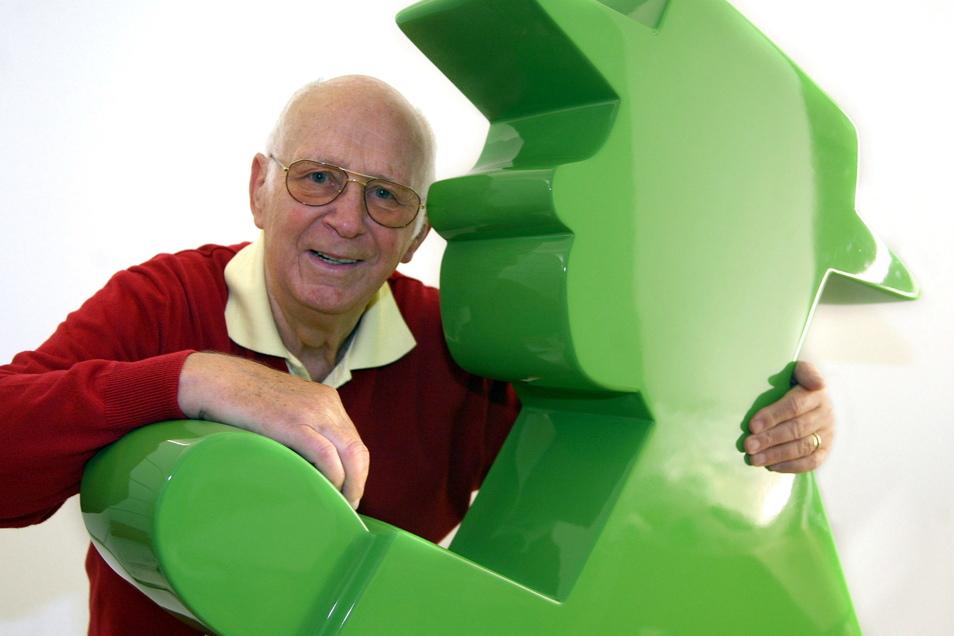 Der Erfinder des Ampelmännchens, Karl Peglau.