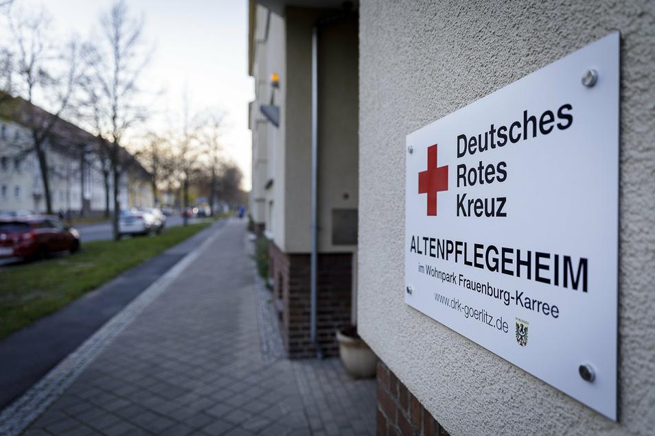 Das DRK-Altenpflegeheim an der Görlitzer Reichertstraße.