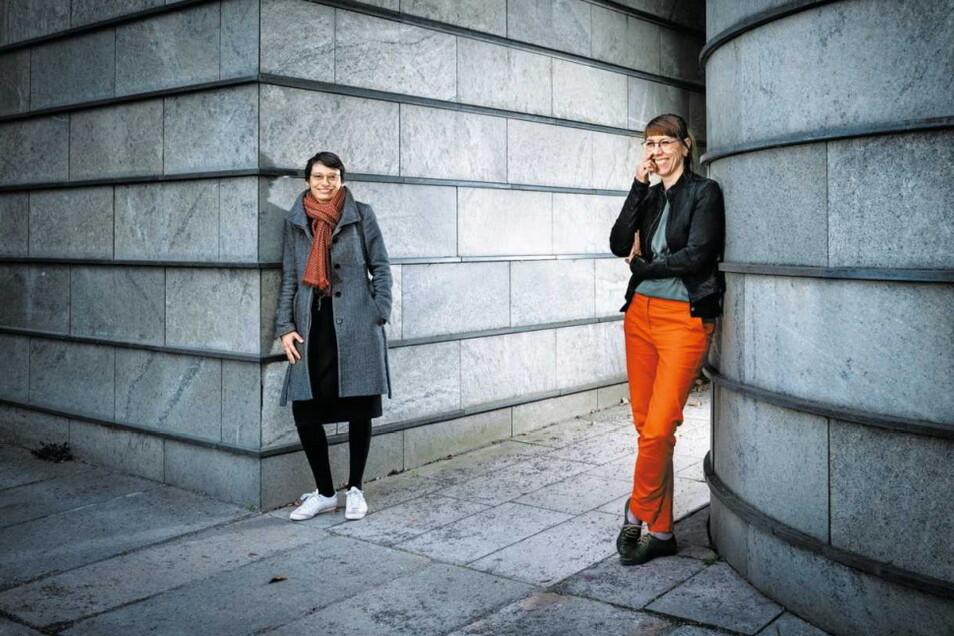Sachsens Justizministerin Katja Meier und Josefine Paul, Abgeordnete in Düsseldorf, sind ein Paar.