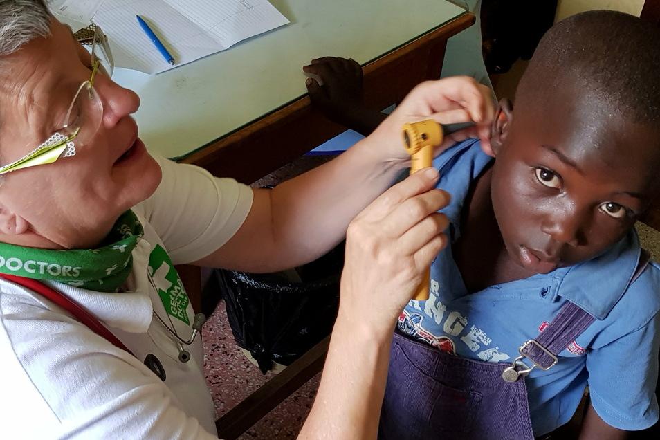 Fünf bis sechs deutschsprachige Ärztin praktizieren in der Regel zeitgleich in Nairobi.