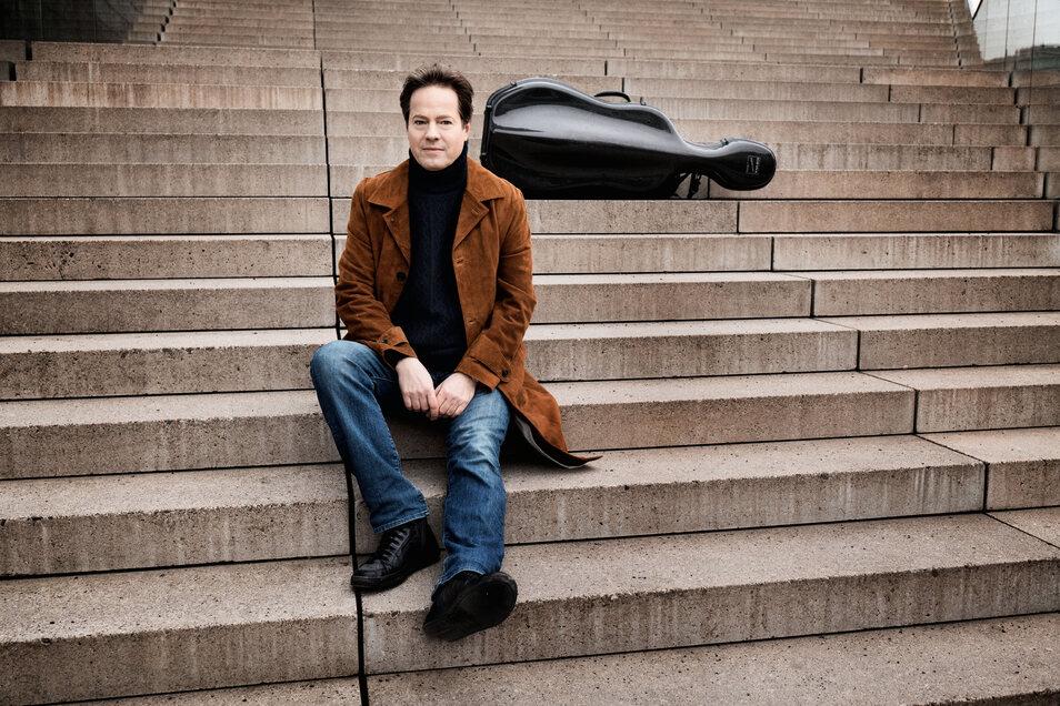 """""""Es wird in der Zwangspause viel Kreativität freigesetzt und Neues entstehen"""", sagt Intendant und Starcellist Jan Vogler."""