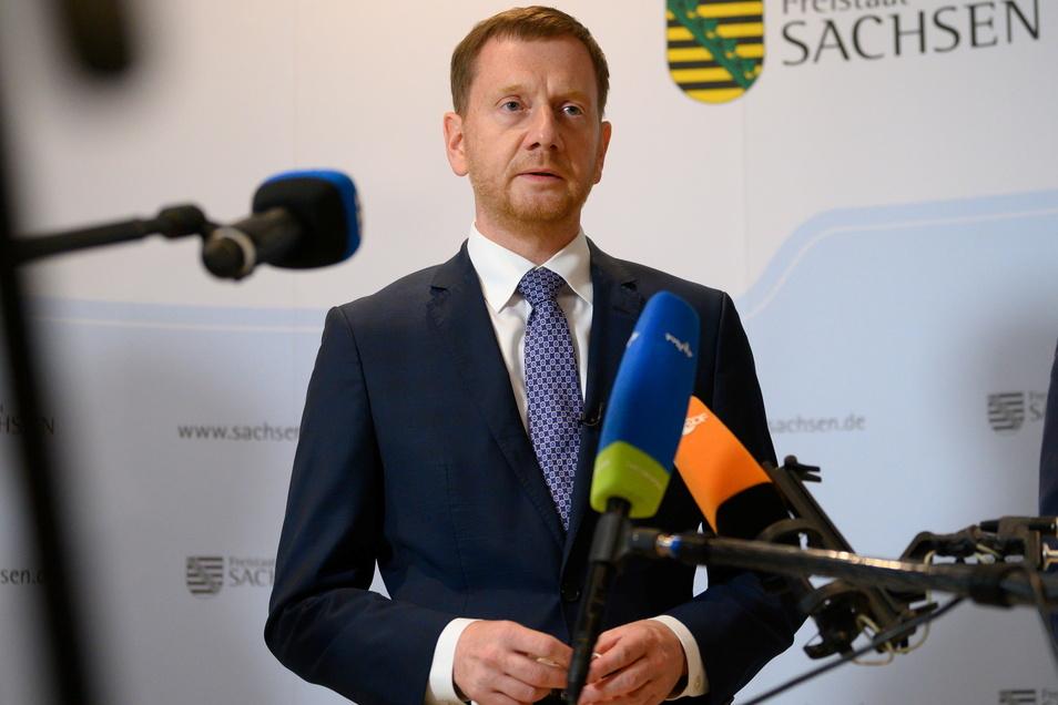 Michael Kretschmer hält nichts von zusätzlichem Druck der EU auf Polen und Ungarn.