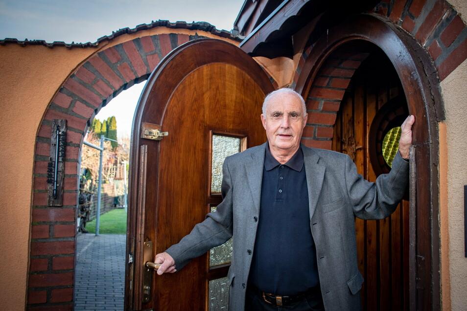 Dieter Heindl kann sein Leben als Rentner genießen. Nach der Auflösung des Kreissportbundes Döbeln, dessen Präsident er war, im Jahr 2008, fiel ihm der Abschied doch schwerer als vermutet.