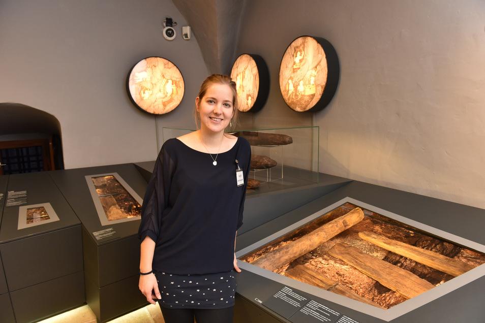 Linda Burghardt leitet zurzeit das Museum für mittelalterlichen Erzbergbau (Miberz).