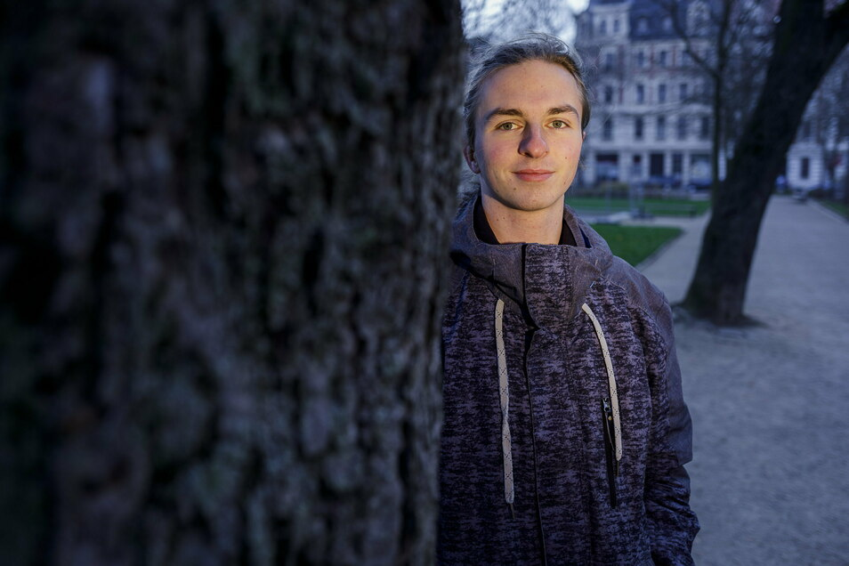 """Alexander Hilse hat die Gruppe """"Fridays for Future"""" in Zittau und Görlitz gegründet. Nun startet er auch mit den """"Students for Future"""" auf Klimaproteste."""