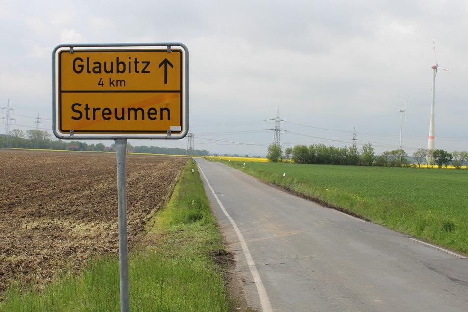 Vom Ortsausgang Streumen soll die Kreisstraße K 8573 instandgesetzt werden.