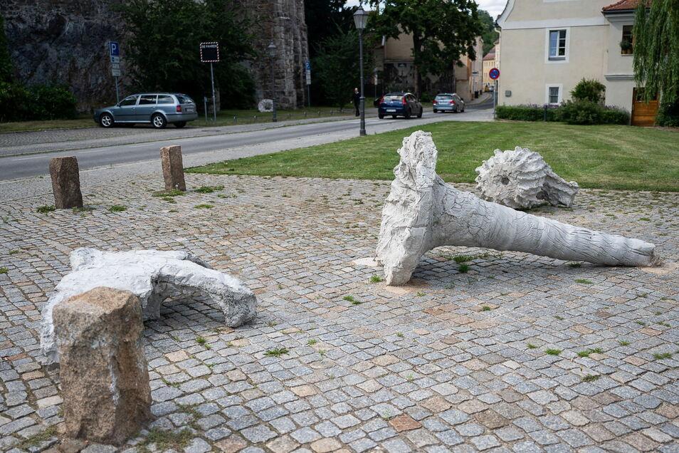 Die Skulpturen von Philipp Putzer setzen auf Fantasie.