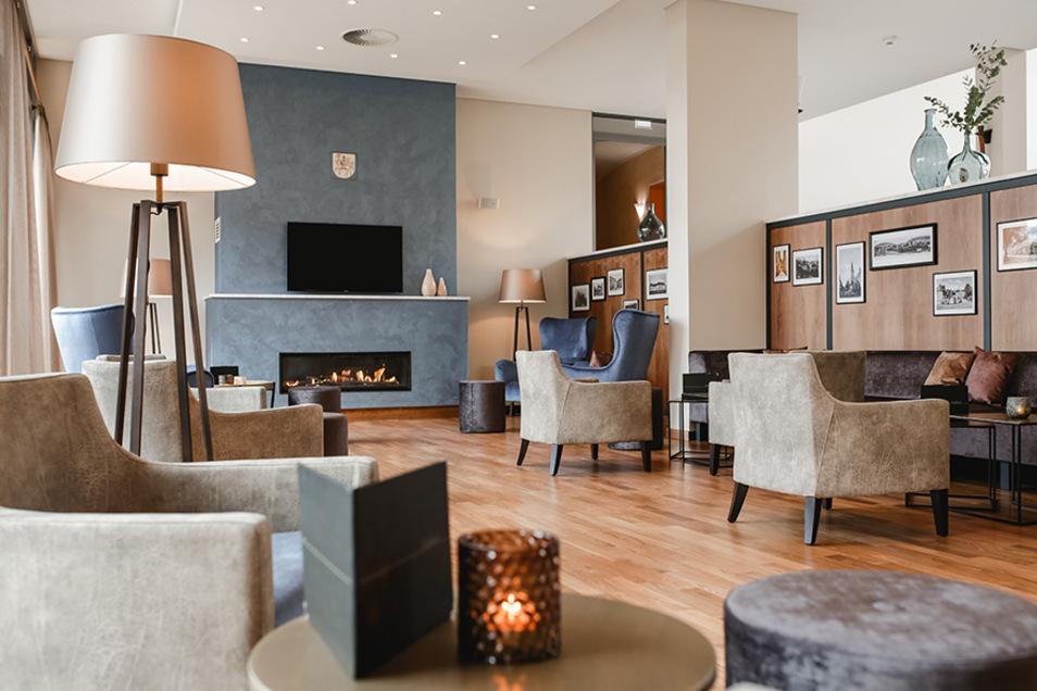 Ein gemütliches Ambiente macht das Hotel am Vitalpark aus.