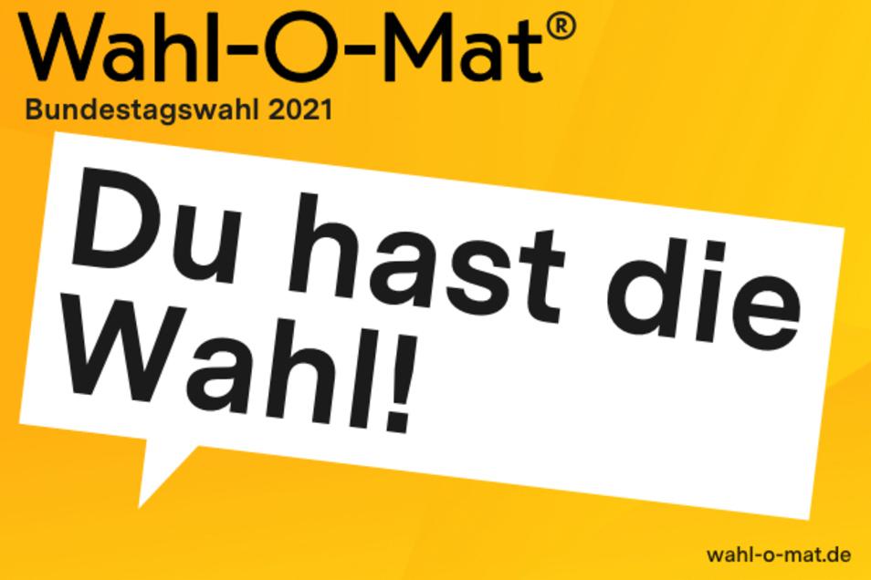 Am 2. September ist der Wahl-O-Mat für die Bundestagswahl 2021 gestartet.