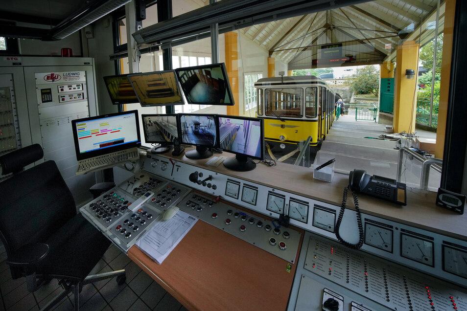 Bislang wurde die Standseilbahn ausschließlich von der Bergstation aus bedient. Nun soll ein neues Funktionsgebäude an der Talstation errichtet werden, wo die Steuerung ebenfalls möglich sein wird.