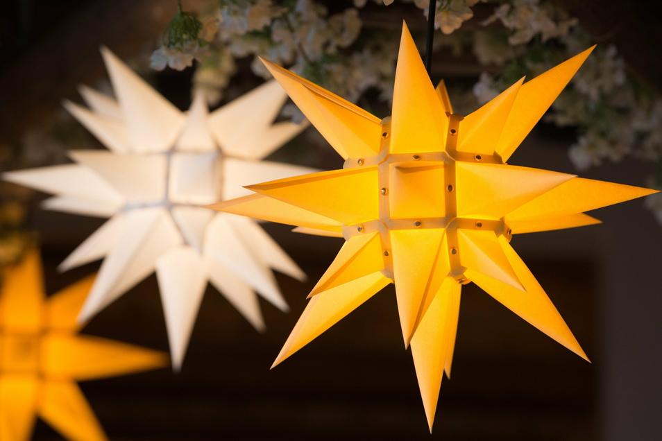 Herrnhuter Sterne sind in diesem Jahr anscheinend besonders begehrt