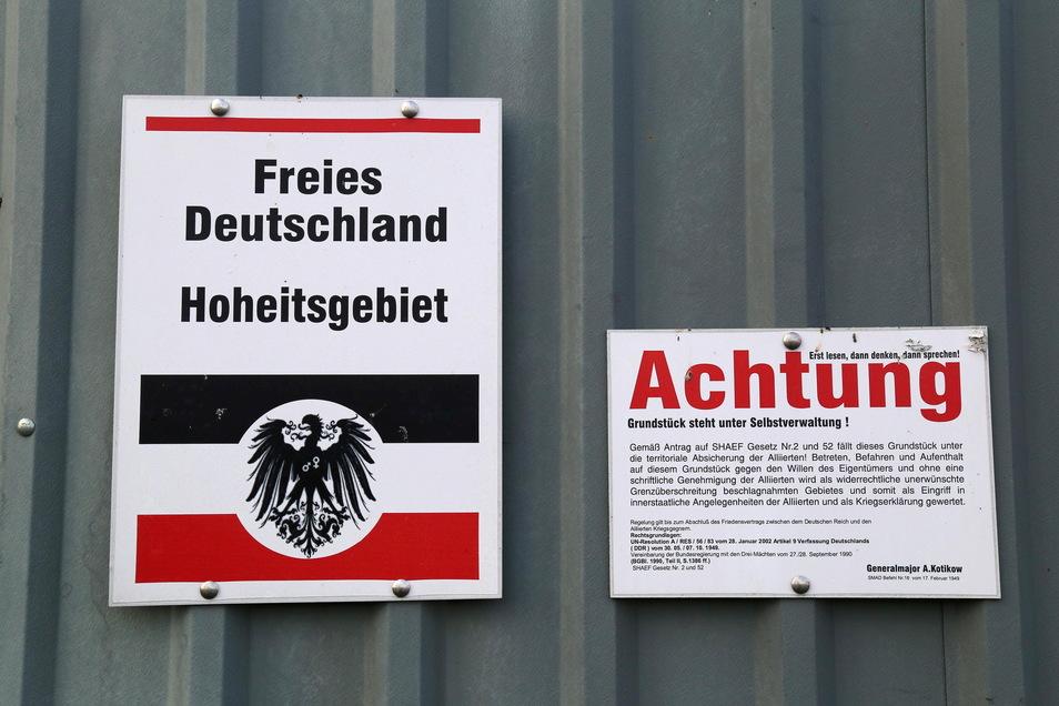 Reichsbürger halten sich nicht für Bürger von der Bundesrepublik Deutschland. (Symbolfoto.)