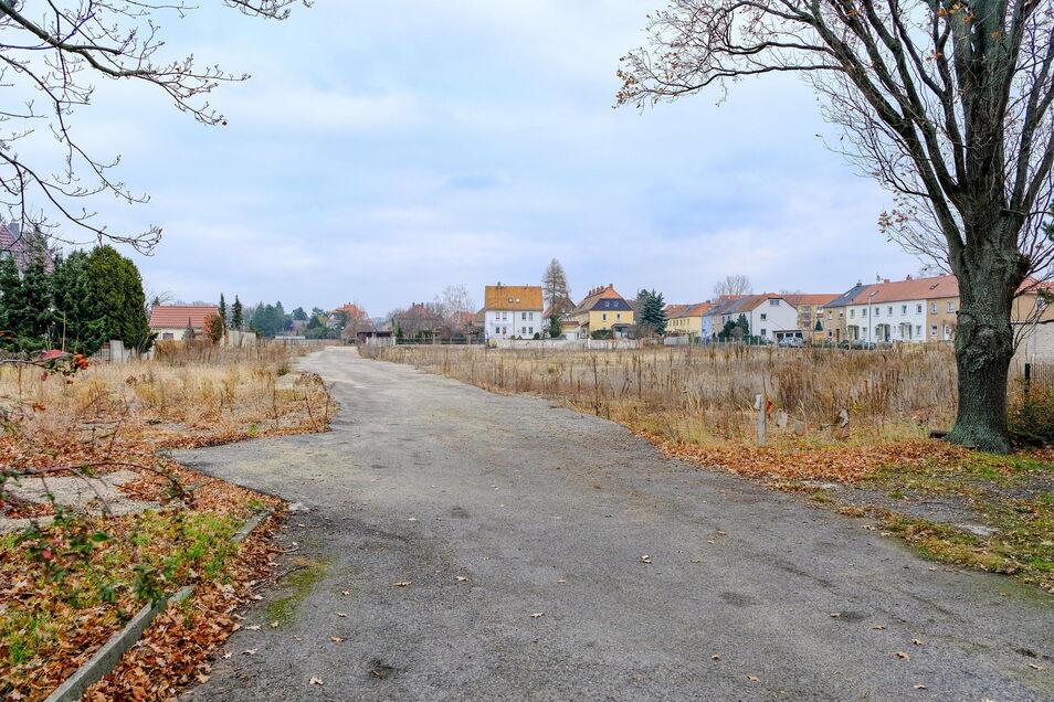 Ab 2022 soll der trostlose Anblick des einstigen Betonwerkgeländes regem Baugeschehen weichen. Hier will die Dresdner Firma Ökowert das neue Wohngebiet Schillerhöfe errichten.