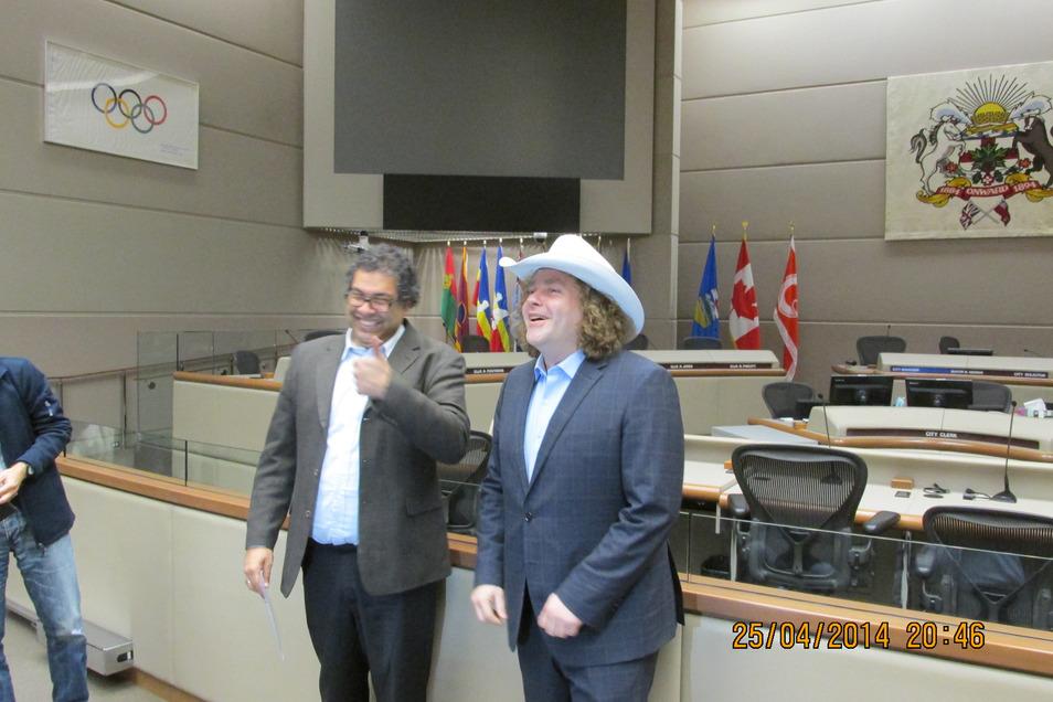 Ein paar Reisen gab es auch schon: hier mit dem Stadtchor ins kanadische Vancouver.