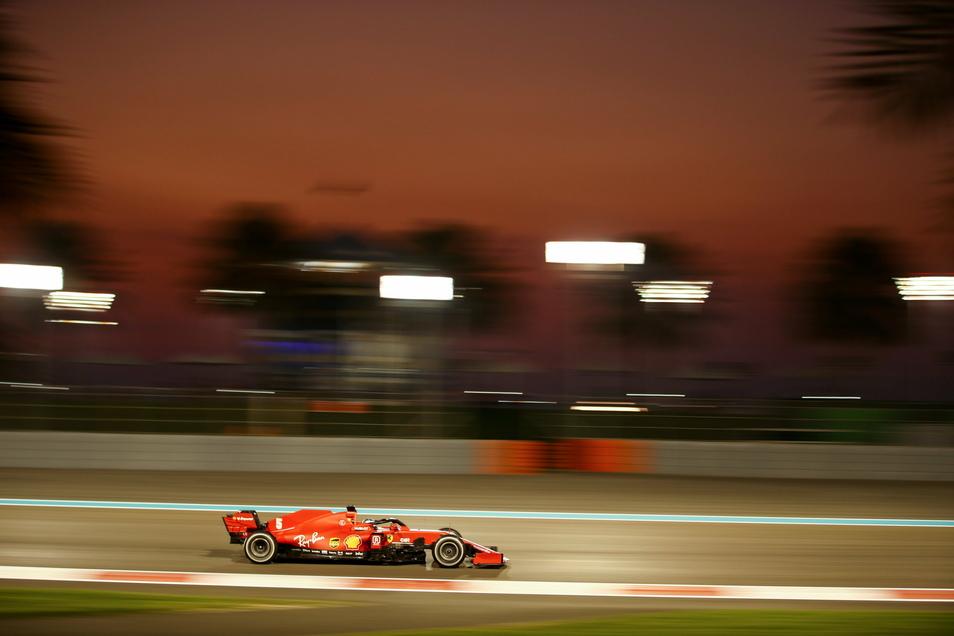 Letzte Ausfahrt Abu Dhabi: Für Sebastian Vettel endet die Ära bei Ferrari - im Rückblick sagt er: Wir sind gescheitert.