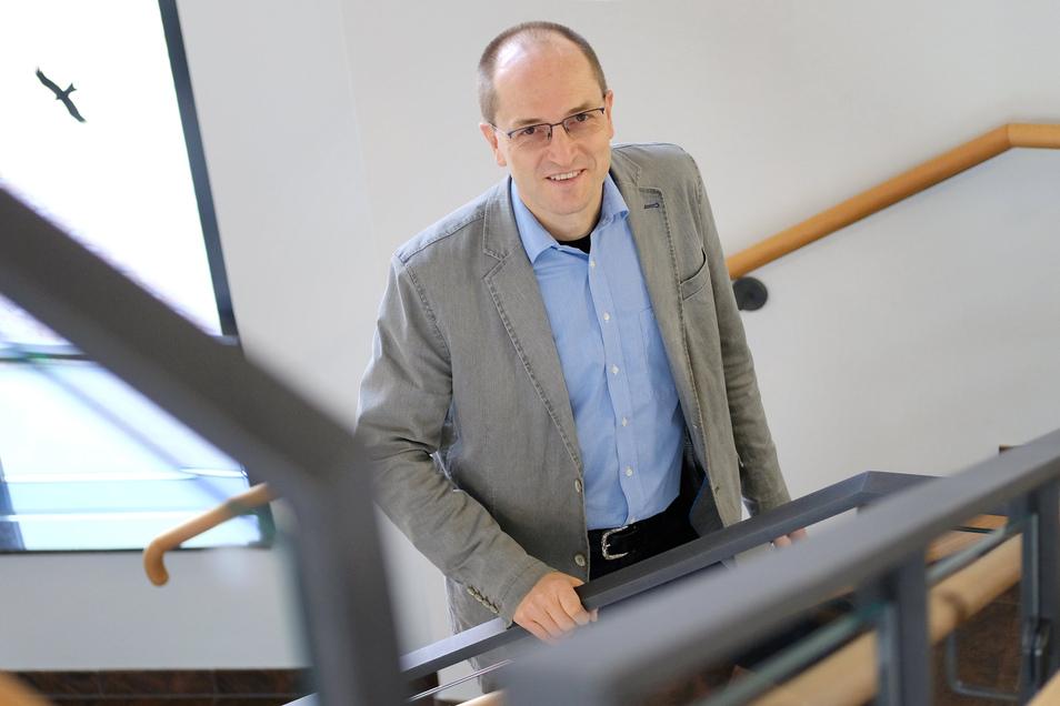 Nossens Bürgermeister Uwe Anke spricht über finanzielle Einbußen für die Stadt wegen der Corona-Krise.