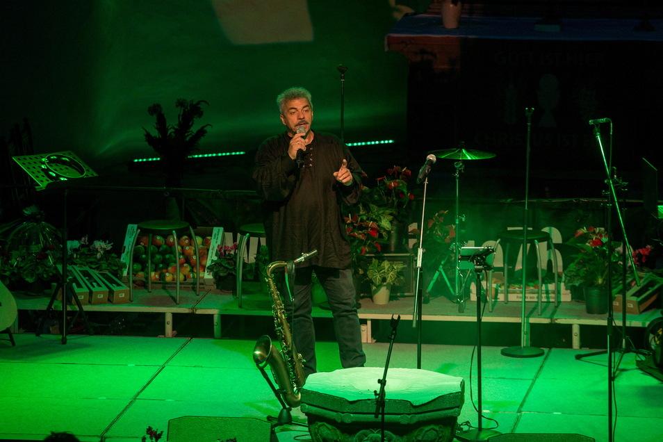Jens Theilig war einer der Akteure des Abends.