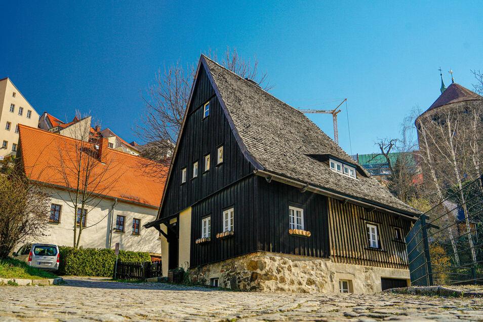 Das Hexenhäusel in Bautzen gilt als ältestes Haus der Stadt.