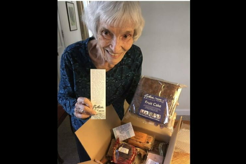 Die Bäckerei Botham's sorgte für ein besonderes Geschenk.