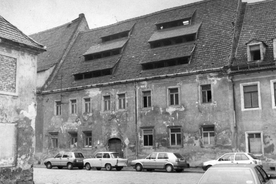 Ziemlich desaströs: So sah das ehemalige Gerberhaus, Lange Straße 22, im August 1994 aus.