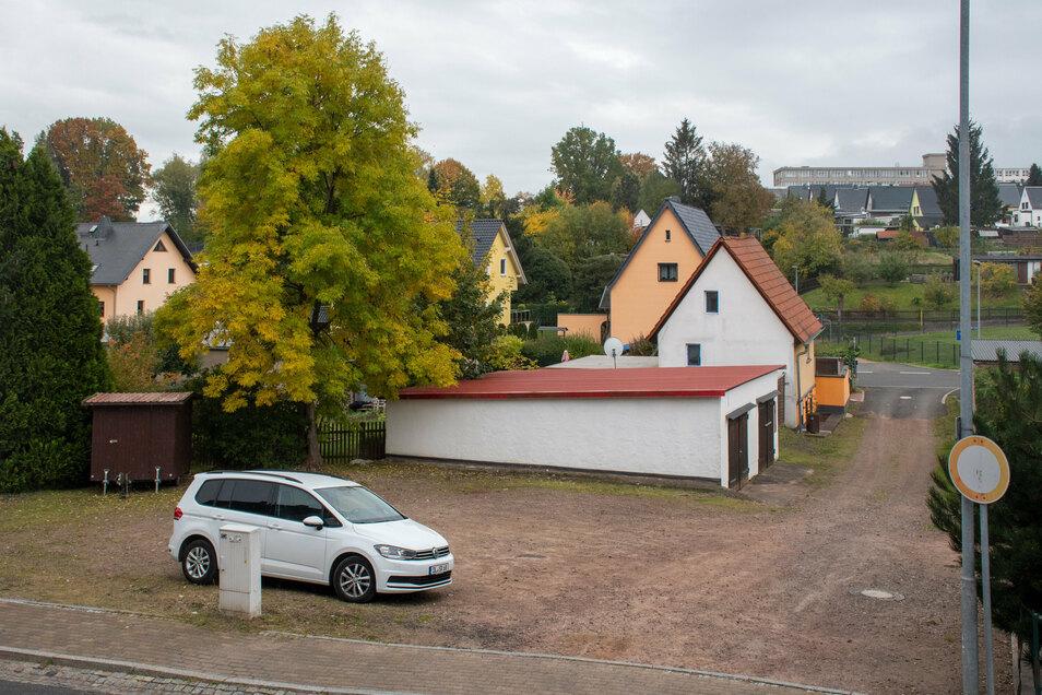 Zur Stadtratssitzung ging es wieder einmal um die Fläche an der Steinaer Straße in Hartha.
