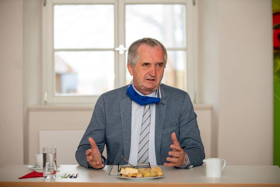Thomas Schmidt ist zuständig für die Regionalentwicklung im Freistaat Sachsen.