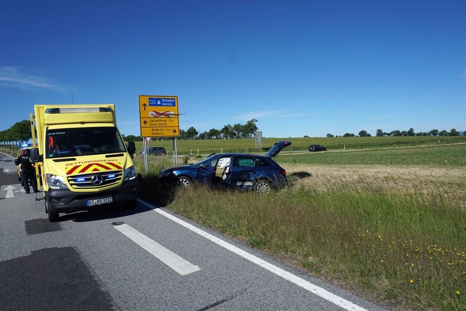 Bei dem Unfall in Salzenforst entstand ein Sachschaden von 15.000 Euro.