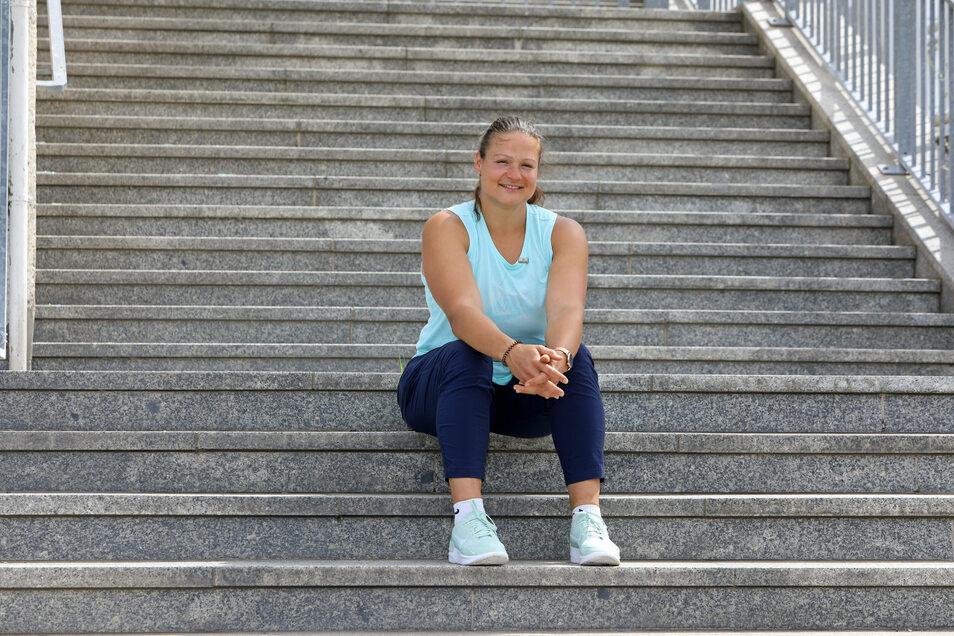 Seit 2015 desillusioniert in Sachen Doping: Christina Schwanitz vertraut den Kontrollen nicht mehr.
