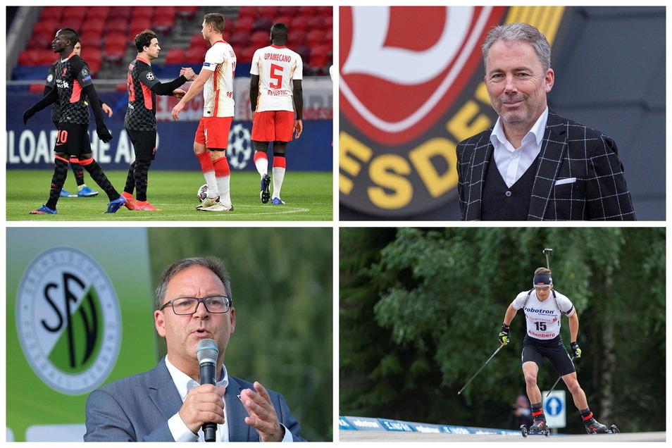 Der Sportdienstag aus sächsischer Sicht: RB muss wohl wieder nach Budapest, Jürgen Wehlend und Hermann Winkler jonglieren mit Zahlen und Justus Strelow darf wahrscheinlich bald im Weltcup ran.