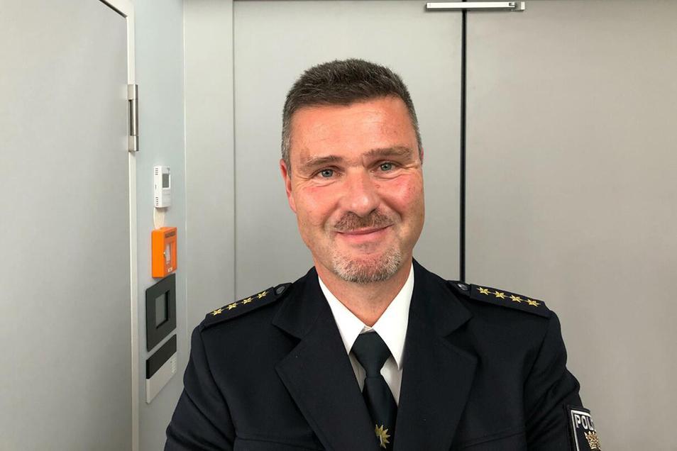 Einsatzleiter Stefan Katte.