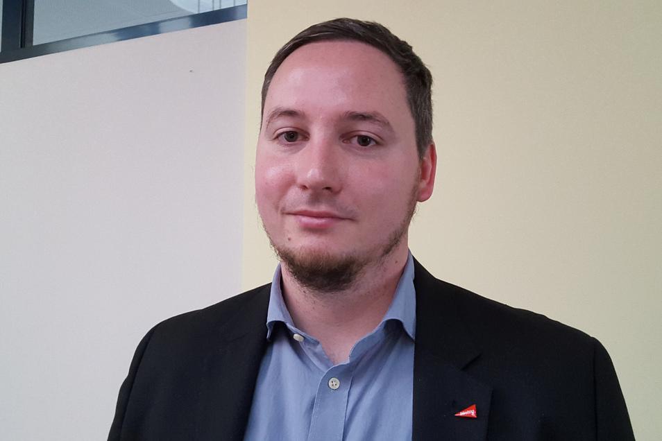Silvio Lang ist neuer Vorsitzender der Partei Die Linke im Kreis Bautzen.