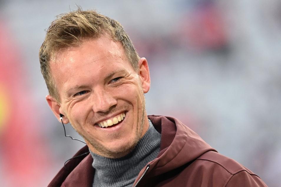 Bayern-Trainer Julian Nagelsmann war einst Assistent von Dynamos Chefcoach Alexander Schmidt, als der bei 1860 München die U17 in der Bundesliga betreute.