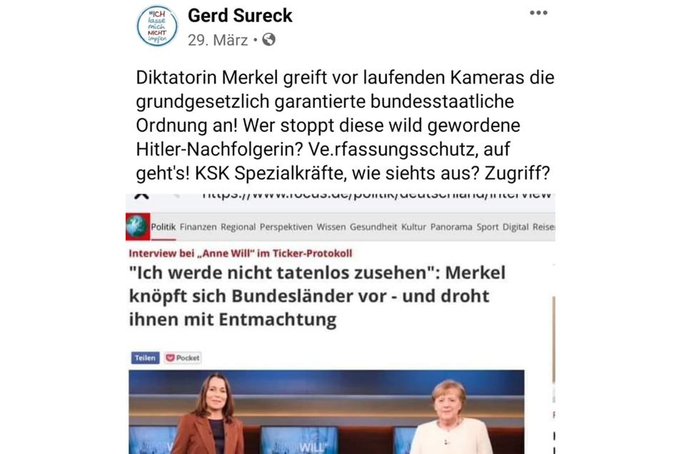 Zu Bundeskanzlerin Angela Merkel (CDU) hat der Justiziar des Studentenwerks eine ziemlich eindeutige Meinung.
