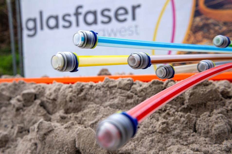 In einigen Ortsteilen von Nossen liegt nun Glasfaserkabel.