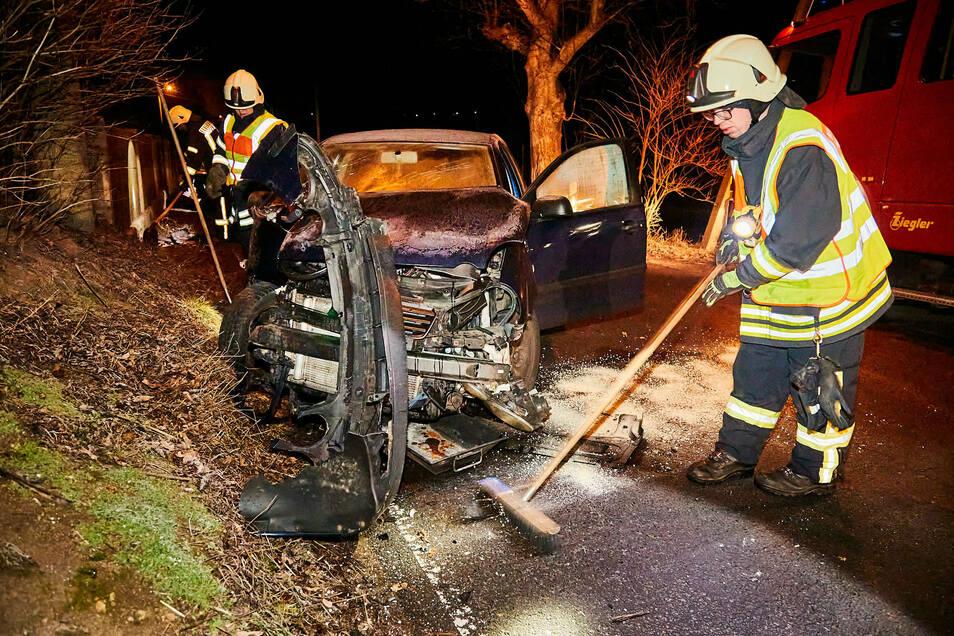 Immer öfter ist auch die Dohnaer Feuerwehr bei Verkehrsunfällen im Einsatz.