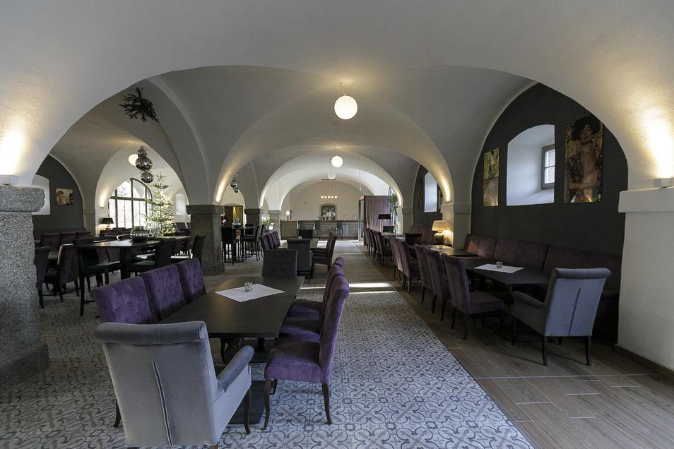 ... und in diesen Tagen als bereits eingerichtetes gutbürgerliches Restaurant.