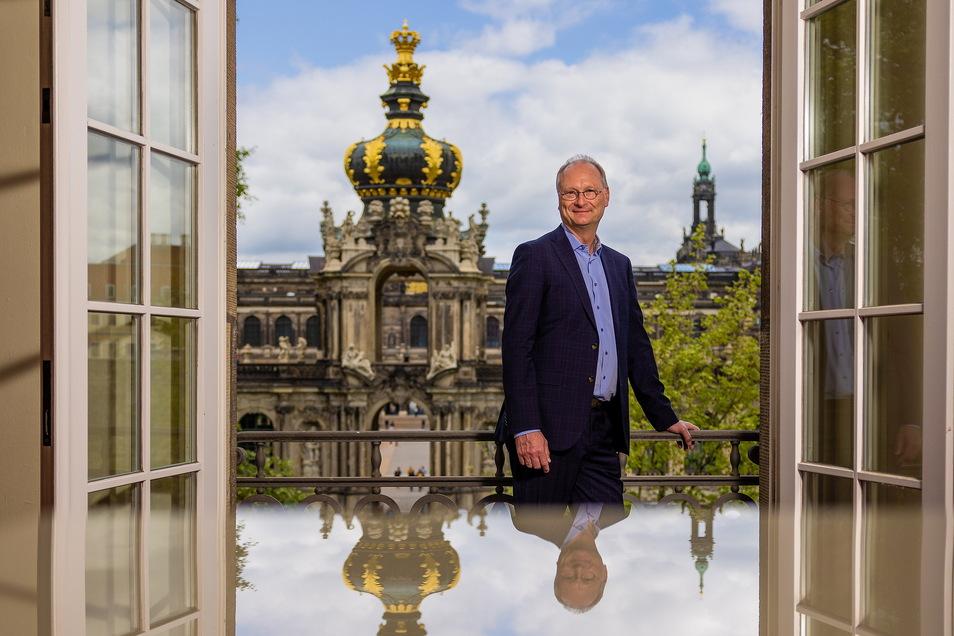 Sven Plöger spannt in seiner Dresdner Rede den Bogen von den Pfützen vor der Haustür bis zur großen Politik.